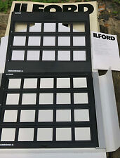 Used Ilford Contact Frame for Mounted Transparencies.