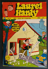 Laurel et Hardy N°9 Larry Harmon Williams France 1973 Bozo Clown