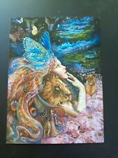 Birthday Card ~ Josephine Wall ~ Heart and Soul