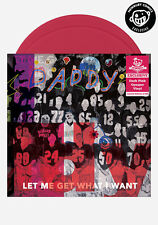 Daddy Let Me Get What I Want 2x PINK VINYL LP Record/MP3 signed by JAMES FRANCO+