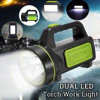 135000LM LED wiederaufladbare helle Fackel Kerze Camping Spotlight Hand Arbeitsl