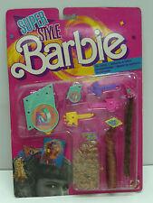 VINTAGE BARBIE SUPER STYLE MAGIC HAIR CHARMS 1988 FASHION MATTEL MOC #1615