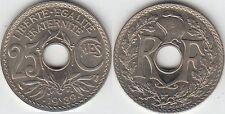 Gertbrolen 25 Centimes maillechort 1939  Superbe brillant de frappe Poids 4,03