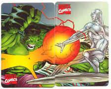MARVEL COMICS HEROES SILVER SURFER & HULK TELECOM 972 / 973