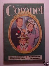 CORONET April 1951 Apr 51 FRANCES CHASE MILTON BERLE APPOMATTOX MACKINLAY KANTOR
