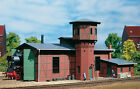 11400 Auhagen HO Kit of a Locomotive shed with water tower - NEW