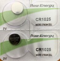 2 - CR 1025 New Energy Watch Battery USA Free Ship Qt.2. Best By 03/2022
