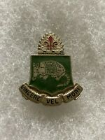 Authentic US Army 35th Tank Battalion Unit DI DUI Insignia Crest NH