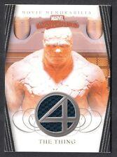 MARVEL MASTERPIECES 2008 SET 2 FANTASTIC FOUR MEMORABILIA COSTUME CARD #FF4