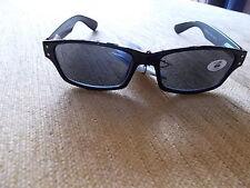 Dunkel getönte Lesebrille Lesehilfe Sonnenbrille 1,0  NEU