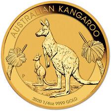 2020 P Australia Gold Kangaroo - 1/4 oz - $25 - BU