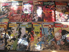 JONNY QUEST :COMPLETE RUN ISSUES 1-24 COMICO 1986 SERIES by WENDY PINI,STATON et