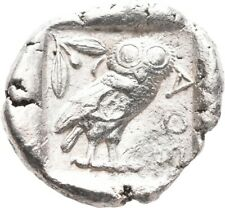 LANZ ATTICA ATHENS TETRADRACHM ATHENA OWL CRESCENT OLIVE SILVER GREEK §RO1337