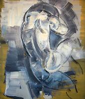 Heiko Pippig *1951 Leipziger Schule: Geborgenheit Acryl-Gemälde 165 x 145 cm