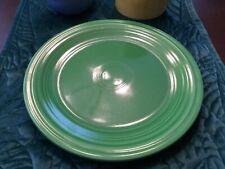 "Fiesta Medium Green 9 3/8"" Plate Homer Laughlin"