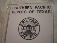 Southern Pacific Railroad Depots in Texas 55 Slides on DVD