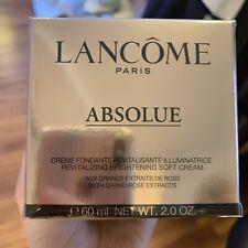 Lancome Absolue Creme Fondante Regenerating Brightening Soft Cream 60ml/2oz NEW