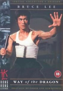 WAY OF THE DRAGON DVD SPECIAL COLLECTOR'S EDITION Bruce Lee Original UK Reles R2