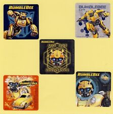 10 Transformers BumbleBee Movie- Large Stickers - Party Favors