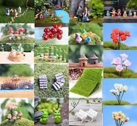 Paisaje Craft Maceta adorno de Jardín Hada en miniatura Decoración Bricolaje