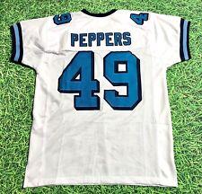 Julius Peppers Custom North Carolina Tar Heels White Jersey Unc Panthers
