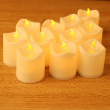 24pcs Battery Operated LED Tea Light Flickering Flameless Tealights Candles