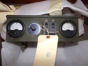 MEP-25A 28VDC Military Generator  control head fsn 6115-935-8691 used take off
