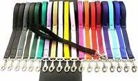 """18"""" 20"""" Short Close Control Dog Lead,Training Leash Padded,20 Various Colours"""