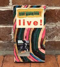 Toy Machine Skateboards Live Vhs 1994