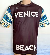 NWOT VENICE BEACH Sublimated Shirt Mens T-Shirt 42 USA Polyester