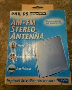philips magnavox am-fm stereo antenna model FMT04 in the box new