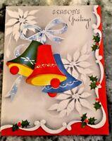 Vintage 1954 Season Greetings Christmas Card