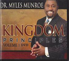 Kingdom Principles The Key to Keys of the Kingdom Vol 1 - 6 Dvds - Myles Munroe