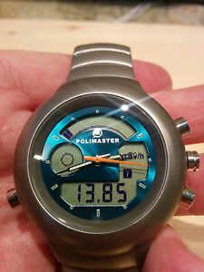 Special PM1208 Gamma Radiation Detector Watch Modified Scintillator CsI(Tl) NEW!