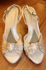 Michaelangelo Davids Bridal Tory Flat Dyeable Shoes Wide 7.5 8 8.5 9 9.5 10 11