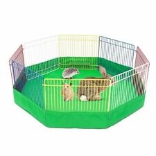Pet Playpen Cage Playground Tent Hamster Rabbit Guinea Pig Metal Indoor Fence