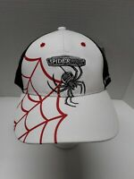 Brand New Spiderwire Fishing Line Hat Cap Black/White/Red Adjustable NWT.