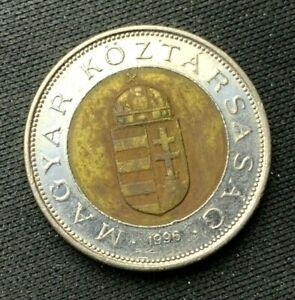 1996 Hungary 100 Forint Coin XF   World Coin   Bi Metallic    #K1321