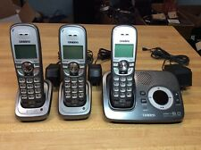 Uniden DECT 1580-4WXT DECT 6.0  Digital Cordless Phone w/Answering System TESTED