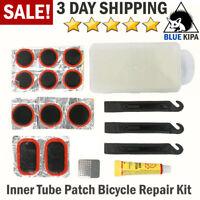 10pcs Self Adhesive Glueless Bike Patch Puncture Tyre Tire Tube Repair Kit/_d Gu