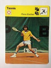 CARTE EDITIONS RENCONTRE 1978 / TENNIS - PIERRE BARTHES