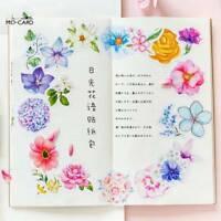 45Pcs/bag Cute Diary Scrapbooking Japanese Style Decors Journal Flower Stickers