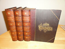 1878 - Our Country: a Household History for all Readers, 3 Volumes, Complete