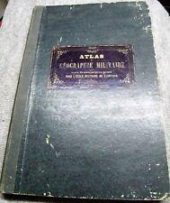 B67 Atlas de géographie militaire pour l'école impériale militaire St Cyr 1870