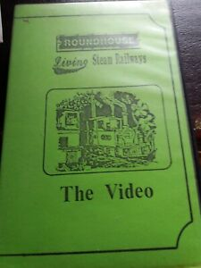 living steam railways  roundhouse VHS