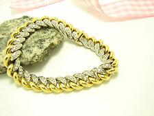 Sehr gute Armbänder aus mehrfarbigem Gold mit SI Reinheit