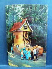 Postcard PA Ligonier Story Book Forest Old Lady In The Shoe Rt 30 Lincoln Hiway