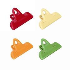 Sacchetti chiudi Tescoma 420760 set 4 bag clips clip sigilla buste presto Rotex