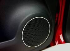 D VW Caddy Chrom Ringe für Lautsprecher - Türlautsprecher - Edelstahl poliert