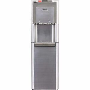 Whirlpool All Stainless Steel and Nickel Self Cleaning Bottom-Load Water Dispens